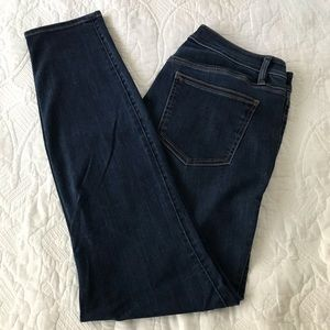 Ann Taylor Skinny Ankle Curvy Fit Jeans Size 12T